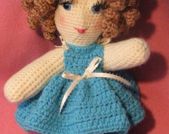 Cherise Crocheted Doll