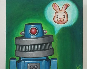 The Robots Story - Original Art by Kevin Kosmicki