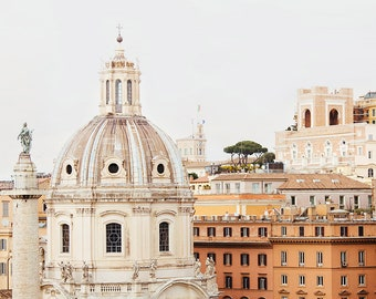 """Rome Photography, Italy Wall Art, Travel Gift for Her, Roman Architecture Print, Fine Art Photography, Travel Home Decor """"Roma"""""""
