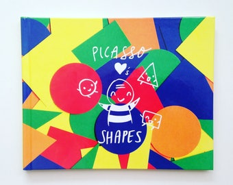 Picasso Loves Shapes, a Children's Book