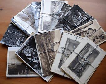 Vintage postcards - pack of 5 assorted cards