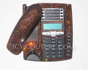 Crystal Bling Telephone with Swarovski Crystals