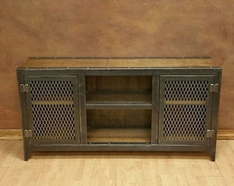 Beau The Vintage   Industrial Console Cabinet #002S U2022 Industrial Style Furniture  By Industrial Evolution Furniture Co.