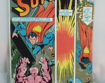 Vintage DC Comic Book  Superman  vol 40 no 329