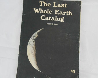 The Last Whole Earth Catalog 1971 advertising