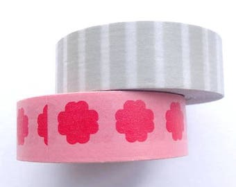 Washi Paper - Masking Tape set of 2x12m