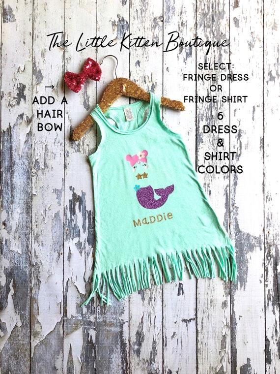 Birthday Dress Birthday Shirt Mermaid Birthday Birthday Outfit Birthday T-shirt Mermaid Shirt Personalized Shirt Unicorn Shirt Unicorn Baby