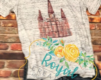 Watercolor St. Louis Cathedral Shirt, French Quarter Fest, New Orleans Cathedral