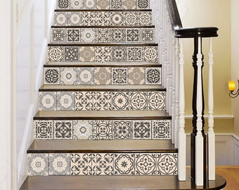 Premium quality Tile stickers for home decor by AlegriaM on Etsy