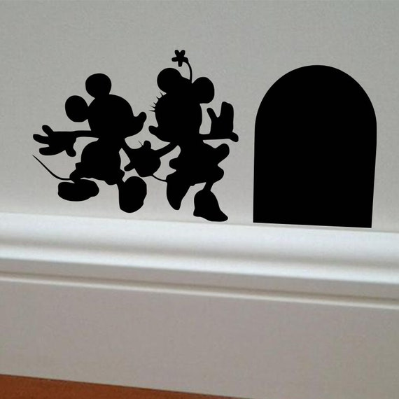 Minnie U0026 Mickey Mouse Wall Decal Minnie Mouse Decal
