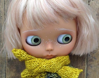 Merino wool scarves, for Blythe dolls, Pullip and all other small dolls