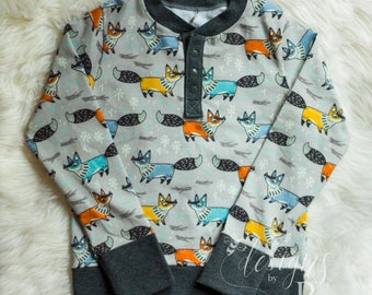 CUSTOM Children's Henley