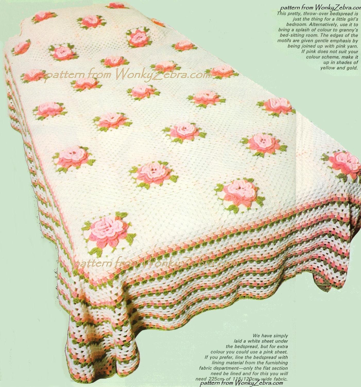rose h keln tagesdecke vintage muster pdf und bonus blume. Black Bedroom Furniture Sets. Home Design Ideas