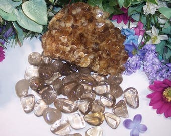 Large Smoky Quartz Crystal.