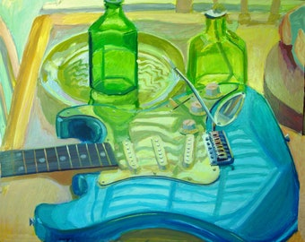 Blue on My Guitar
