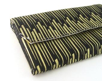 Womens Wallet Minimalist Wallet Vegan Wallet Travel wallet women fabric wallet ladies wallet thin wallet for women gold wallet long wallet