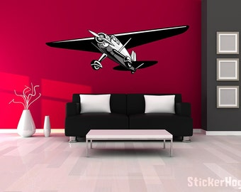B2 Stealth Bomber Airplane Wall Decal Vinyl Aviation Sticker