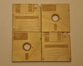 Floppy Disk Coasters - Geek Chic!