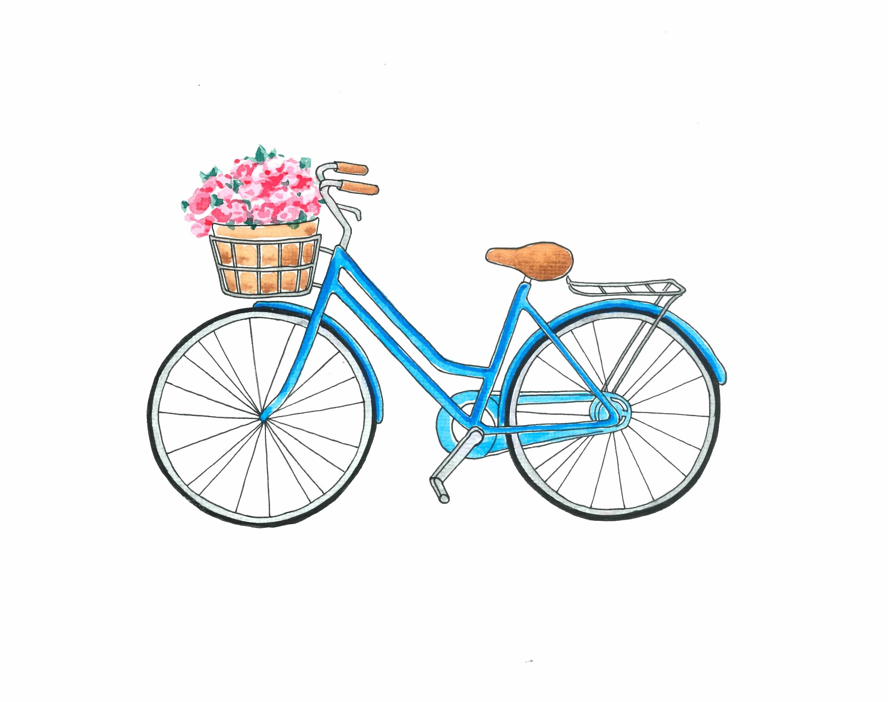 Sofortiger Download Fahrrad Art Fahrrad Druck Fahrrad