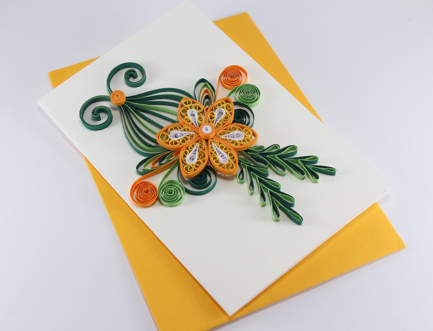 Handmade quilling birthday card handmade paper greeting card zoom m4hsunfo