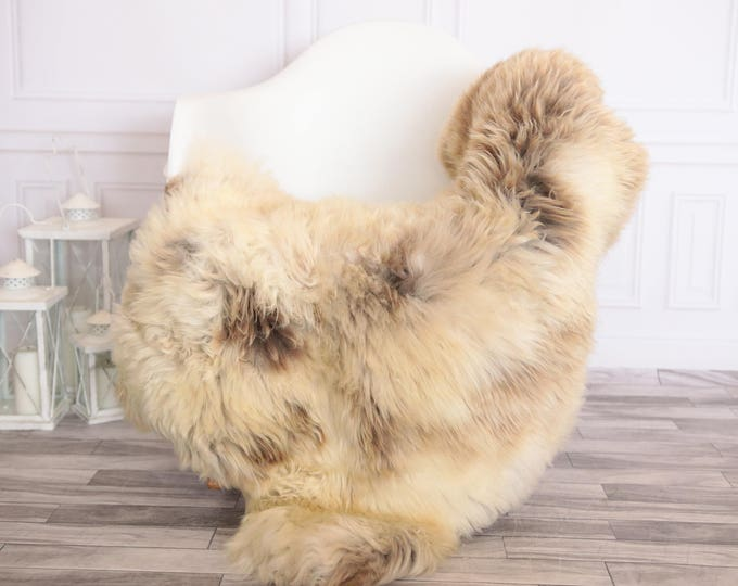 Sheepskin Rug | Real Sheepskin Rug | Shaggy Rug | Scandinavian Rug | | SCANDINAVIAN DECOR | Beige Sheepskin  #FEBHER5