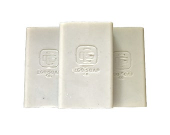 "Perfectly Imperfect Men's Soap ""Fortitude"" 6oz Large Bar Ego Soap Company.  Natural and Handcrafted Cold Processed Soap Sea Clay"