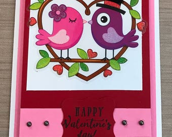 Bird Valentines Cards Free Shipping Available