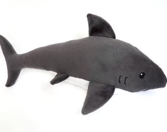 Shark Plush Toy - Great White Shark Plushie - Sealife Toys