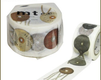 New!! mt ex washi paper masking tape envelope eyelet tamahimo made in Japan