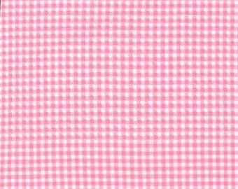 Pink Tiny Gingham From Michael Miller Fabrics