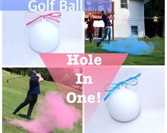 Golf Balls 3 Gender Reveal Golf Ball Gender Reveal Ideas Gender Reveal Golf Balls Gender Reveal Ideas