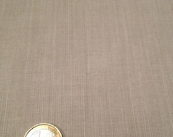 coupon fabric patchwork 25 X 25 cm / beige pinstripes