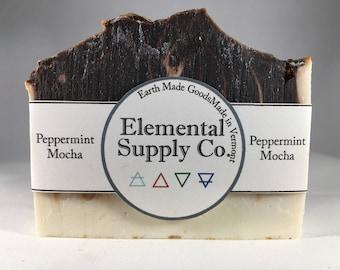 Peppermint Mocha Soap