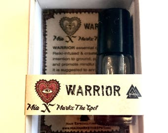 Warrior - Essential Oil Perfume