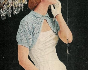 Vintage Knitting Pattern Bundle - Any Five PDF Patterns for the Price of Four