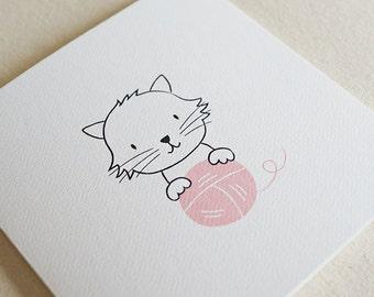 Cat / Card