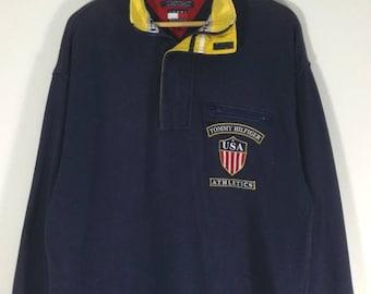 Rare ! Vintage ! Tommy Hilfiger Sweatshirt
