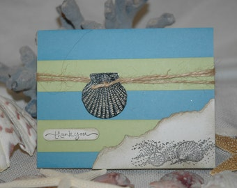Seaside Thank You Cards