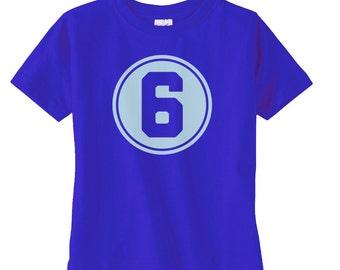 Preppy Boys Sixth Birthday Shirt - Boys Birthday Gift - Boys 6th Birthday - Cool Boys Birthday Shirt - Birthday Party Tshirt - Birthday Boy
