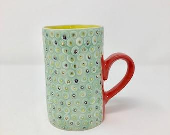 Dots Gslore Mug- Yellow