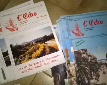 "(31) set of journals ""Oran echo"""