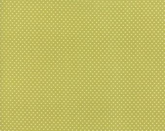 Swiss Heart in Green - Moda cotton fabric