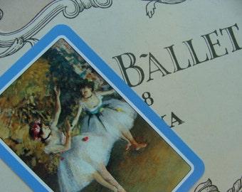 Vintage Very French Ballet Vintage Cards