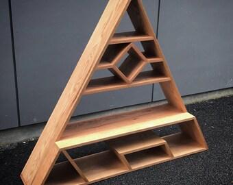 Triangle Floor Shelf