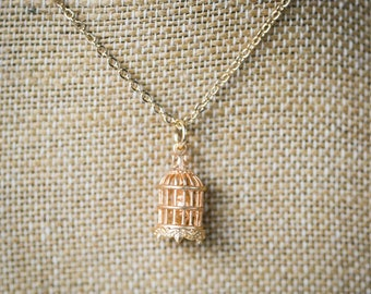 Birdcage Necklace
