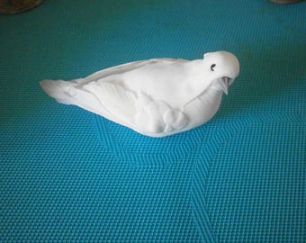 1 large white dove sticking on all carriers
