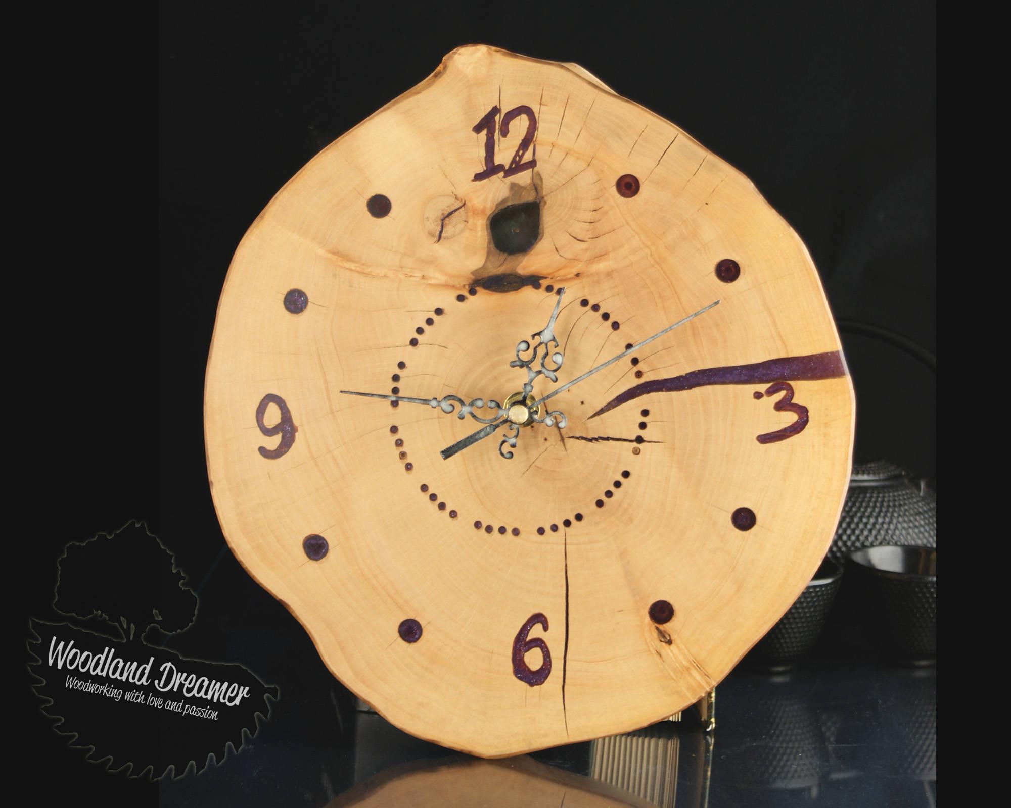 Wall Clock Design Wooden Living Room Clocks Decor