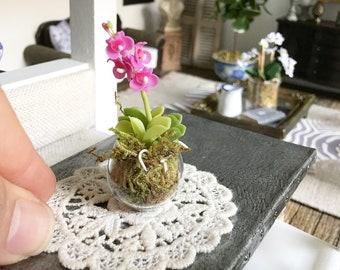 Miniature lace doily - Dollhouse - Diorama - Roombox - 1:12 scale