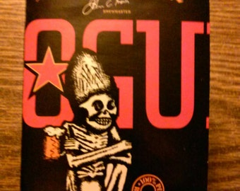 Rogue Dead Guy Ale Upcycled Beer Cardboard Notebook