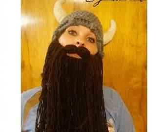 ADULTS Viking Hat and Beard
